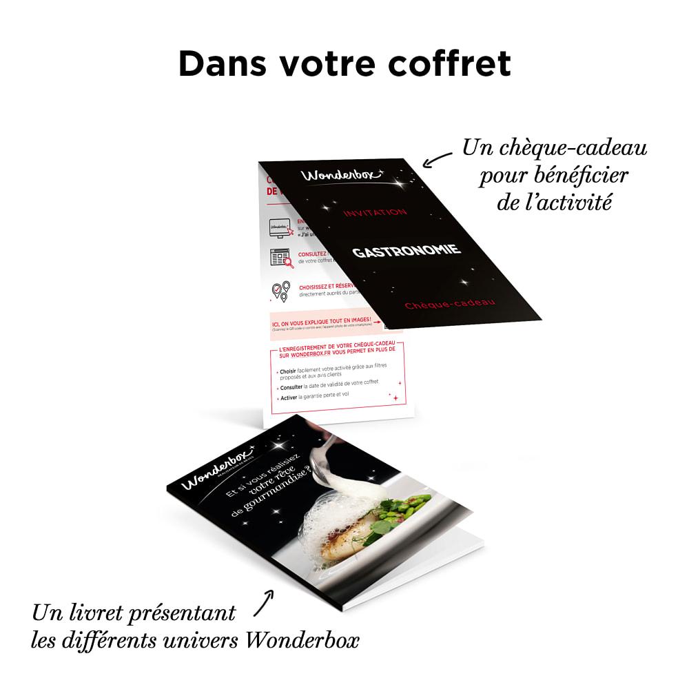 Tables gourmandes coffret cadeau wonderbox - Wonderbox table prestigieuse ...