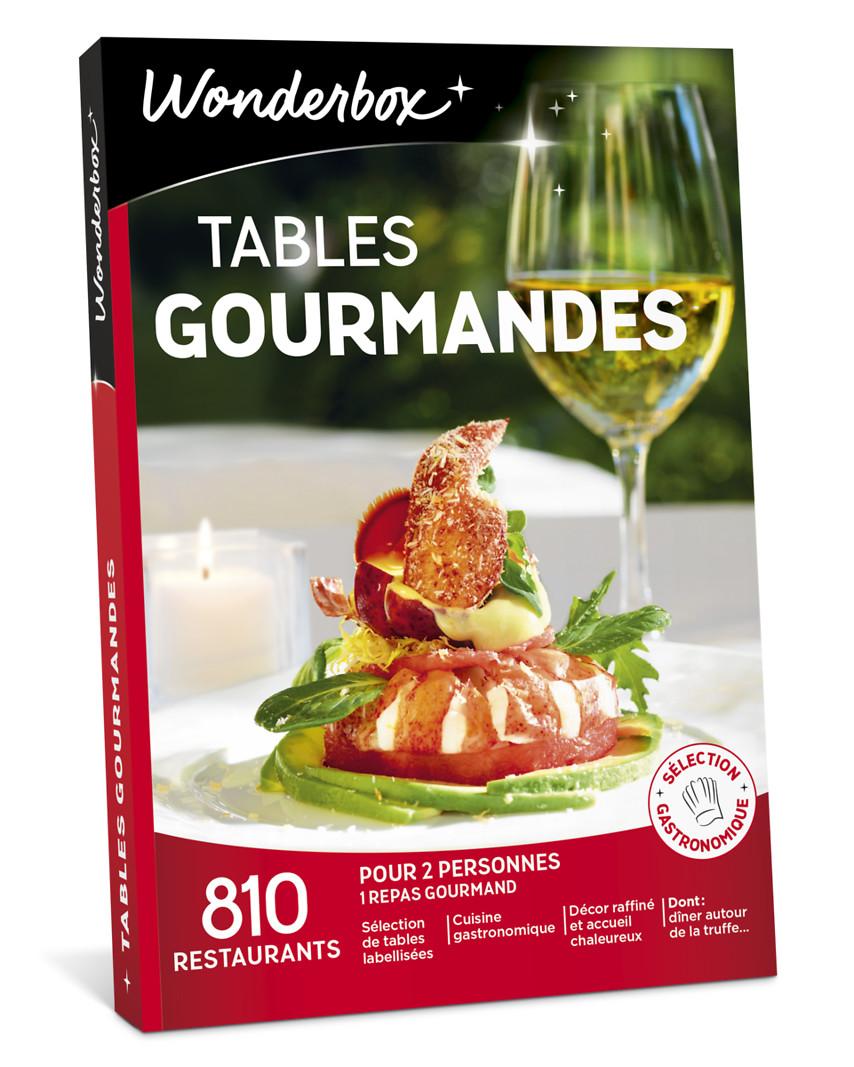 Tables gourmandes coffret cadeau wonderbox - Tables gourmandes wonderbox ...