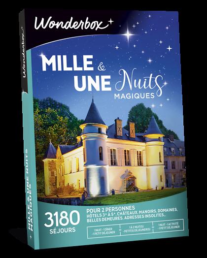 10 Hôtels Pour Un Week End De 2 Ou 3 Jours: Coffret Cadeau Mille Et Une Nuits Magiques