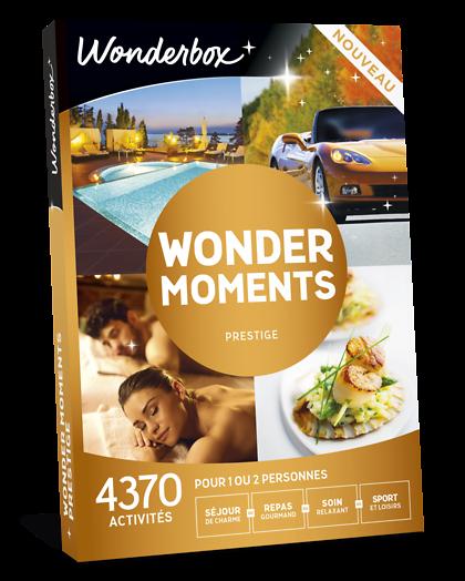 Coffret cadeau wonder moments prestige wonderbox - Wonderbox sejour prestige table d hotes ...