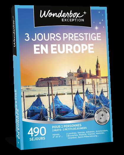 10 Hôtels Pour Un Week End De 2 Ou 3 Jours: Coffret Cadeau 3 Jours Prestige En Europe