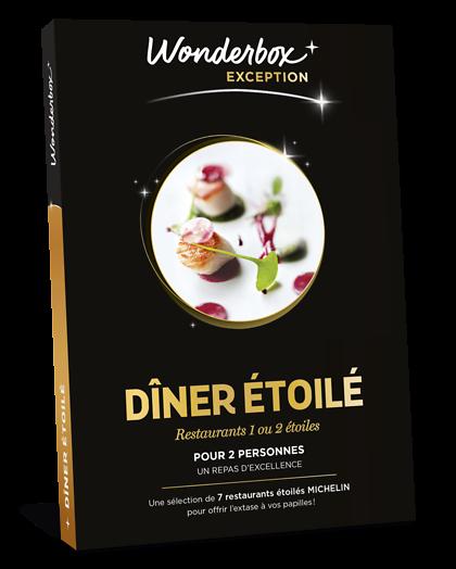 Coffret cadeau gastronomie michelin - Tables gourmandes wonderbox ...