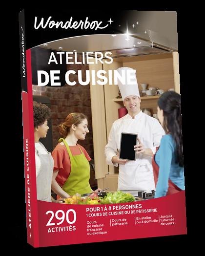 Ateliers De Cuisine Coffret Cadeau Wonderbox