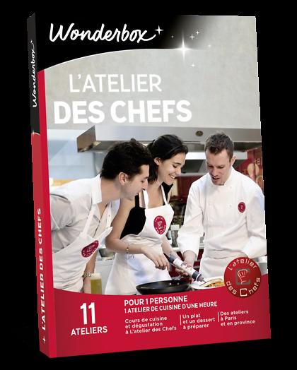 Latelier Des Chefs Coffret Cadeau Wonderbox