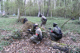Session de paintball - Paintball Ourcadia - Crouy sur Ourcq (77)