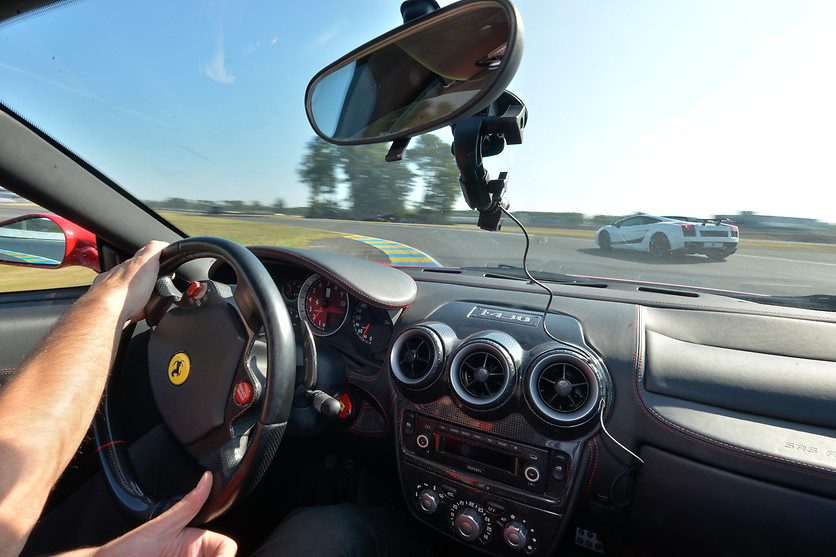 Pilotage de la Ferrari F458 Italia - Sensations Lives - Le Mans (72) - photo 2