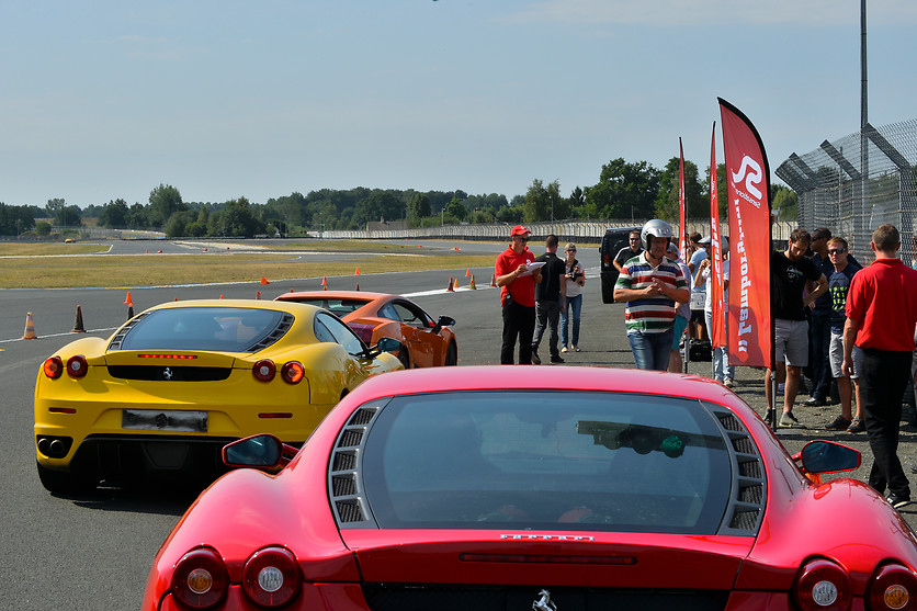 Pilotage de la Ferrari F458 Italia - Sensations Lives - Le Mans (72) - photo 9