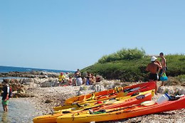 Excursion en canoë-kayak pour 2 - Seasfirst - Juan-les-Pins (06)