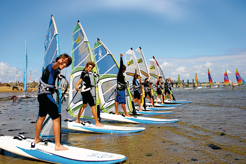 Cours de windsurf - Wave School - La-Tranche-sur-Mer (85) - photo 16