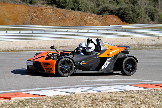 Baptême passager en KTM XBOW-R - GT Drive - Circuit du Grand Sambuc (13) - photo 0