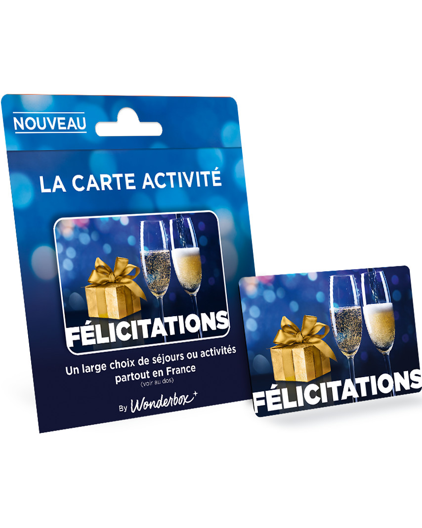 Carte FÉLICITATIONS