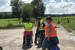 Tour en scooter électrique - Green Wheel (Heyd - Luxembourg)