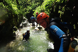 Parcours canyoning découverte - Terréo Canyoning - Le Cléry (73)