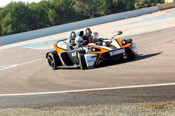 Baptême passager en KTM XBOW-R - GT Drive - Circuit du Grand Sambuc (13) - photo 1