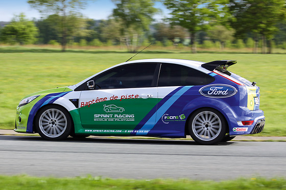 Baptême passager en Ford Focus - Sprint Racing - Circuit Michelin de Ladoux (63) - photo 2