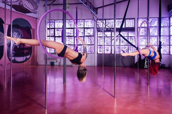 pole dance 50 anni