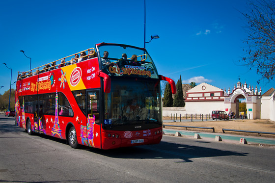 Visite panoramique en bus - City Sightseeing Sevilla - Séville (Espagne) - photo 0