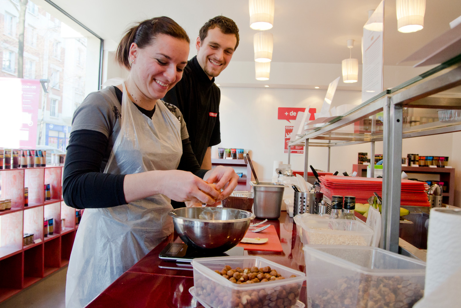 Ateliers de cuisine chez cook go nantes 44 wonderbox for Wonderbox cours de cuisine
