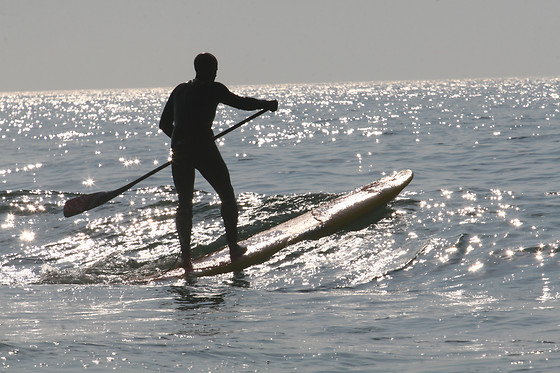 Paddle surf debout - Neptuno Sur 07 - Guardamar (Espagne) - photo 0