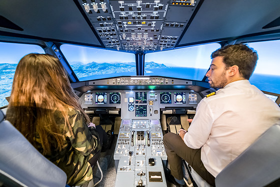 Simulateur de vol en A320 ou avion de chasse - AviaSim - Paris (75013) - photo 4