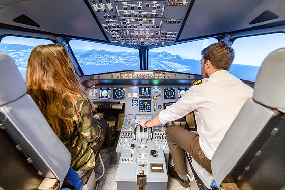 Simulateur de vol en A320 ou avion de chasse - AviaSim - Paris (75013) - photo 1