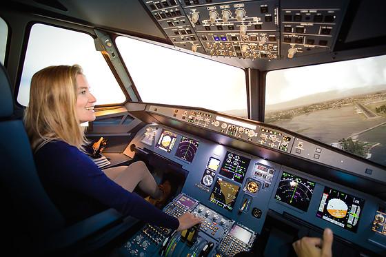 Simulateur de vol en A320 ou avion de chasse - AviaSim - Paris (75013) - photo 0