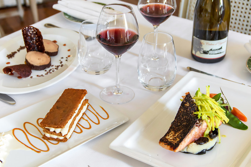 Restaurant Chateau D Ygrande