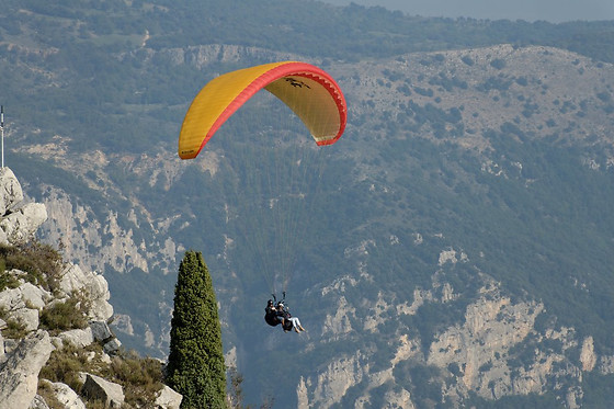 Vol en parapente biplace - Ascendance - Gourdon (06) - photo 1
