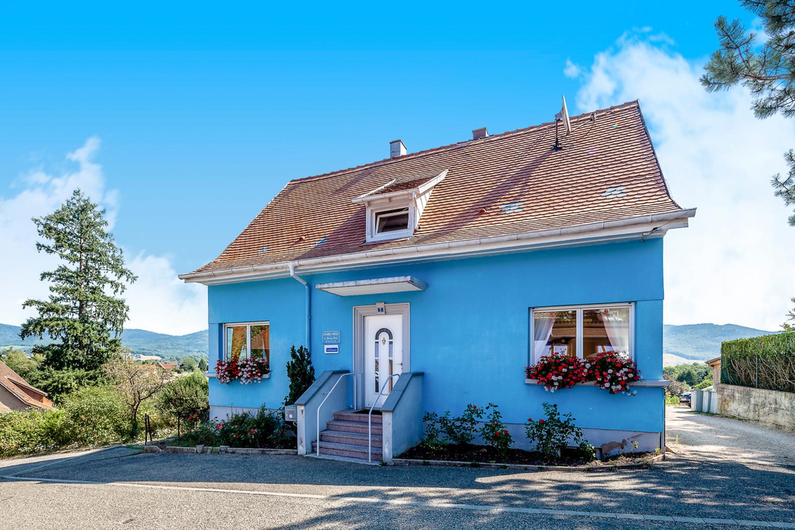 s jour gourmand pour 2 la maison bleue dieffenbach au val 67 wonderbox. Black Bedroom Furniture Sets. Home Design Ideas