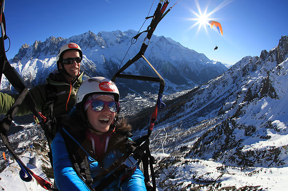 Vol en parapente - Wing Over Chamonix - Chamonix (74) - photo 2