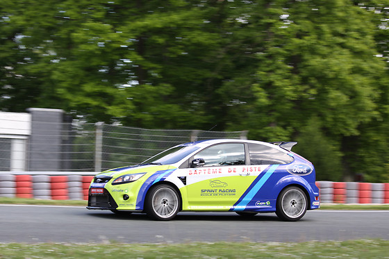 Baptême passager en Ford Focus - Sprint Racing - Circuit Michelin de Ladoux (63) - photo 0