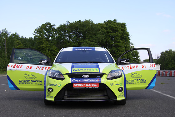 Baptême passager en Ford Focus - Sprint Racing - Circuit Le Luc (83) - photo 9