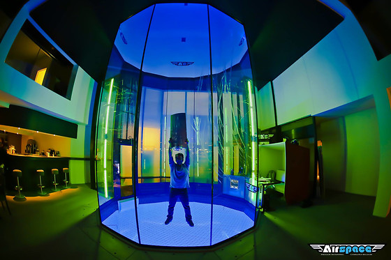 Session de vol - Airspace Indoor Skydiving - Charleroi (Hainaut) - photo 2
