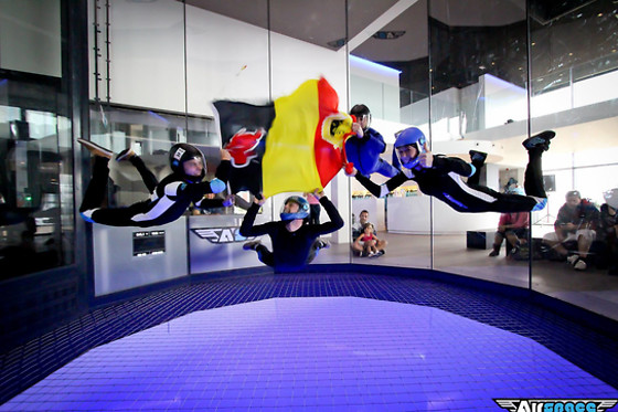 Session de vol - Airspace Indoor Skydiving - Charleroi (Hainaut) - photo 1