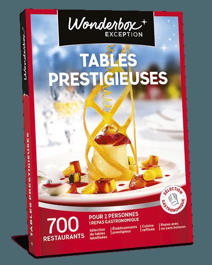 Wonderbox Table Prestigieuse