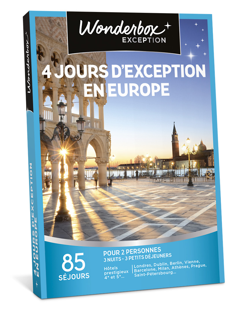 4 jours d'exception en Europe