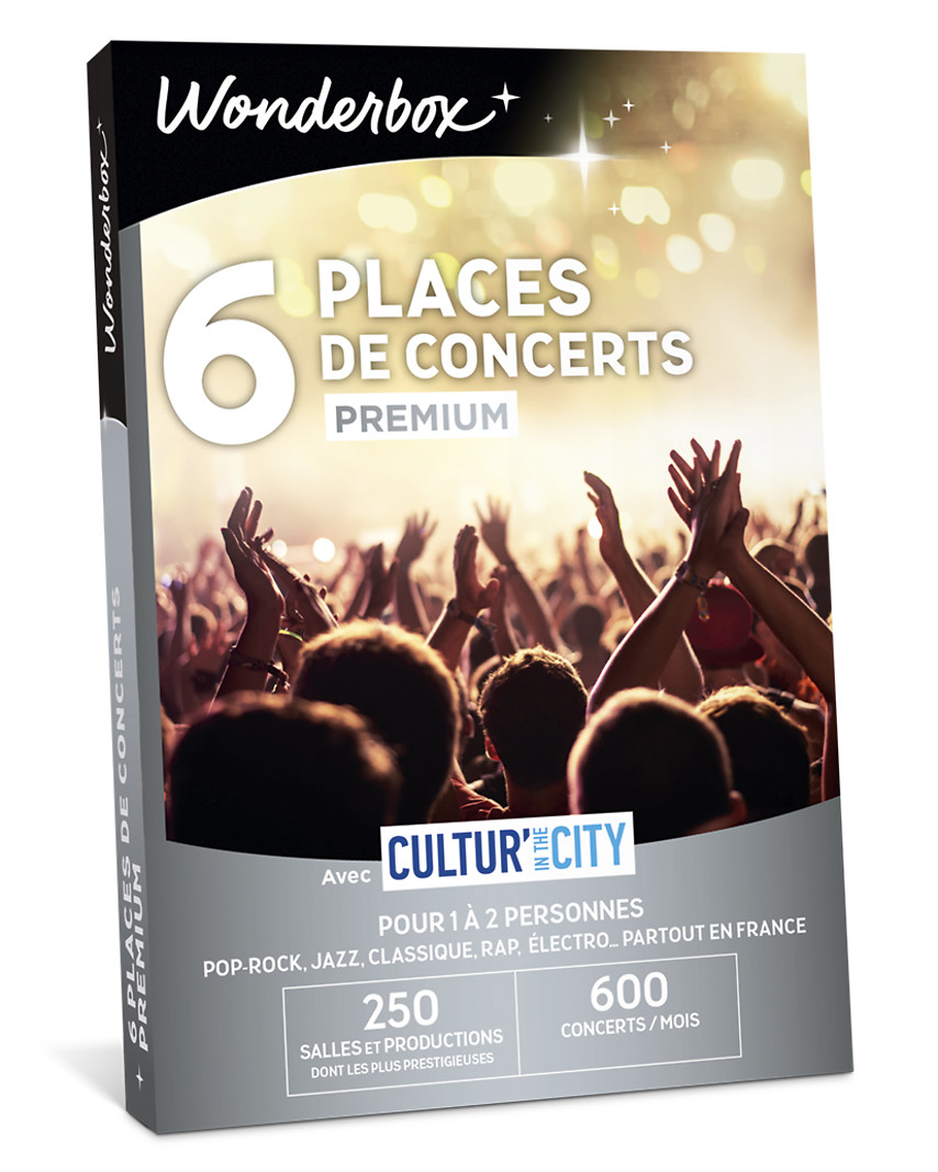 6 Places de concerts Premium - Cultur'In The City