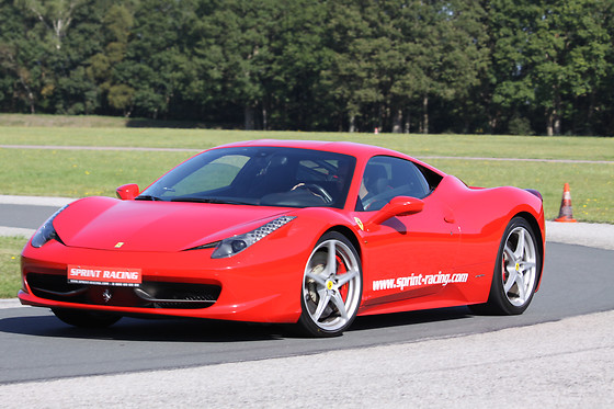 Pilotage de la Ferrari F458 - Sprint Racing - Circuit d'Abbeville (80) - photo 2
