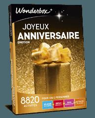 watch 1cf08 2f7e6 Coffret cadeau Joyeux anniversaire Émotion