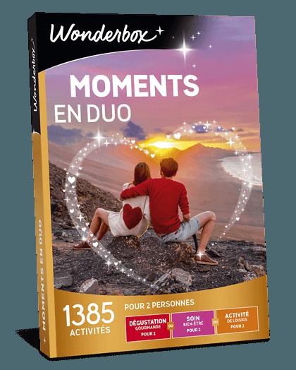 Coffret Cadeau Moments En Duo Wonderbox