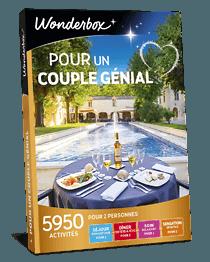 Coffret Cadeau Pour Un Couple Genial Wonderbox