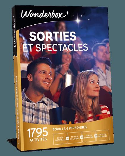 Coffret Cadeau Sorties Et Spectacles Wonderbox