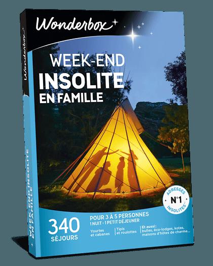 7fe0a98c82e Coffret Cadeau Week-end insolite en famille