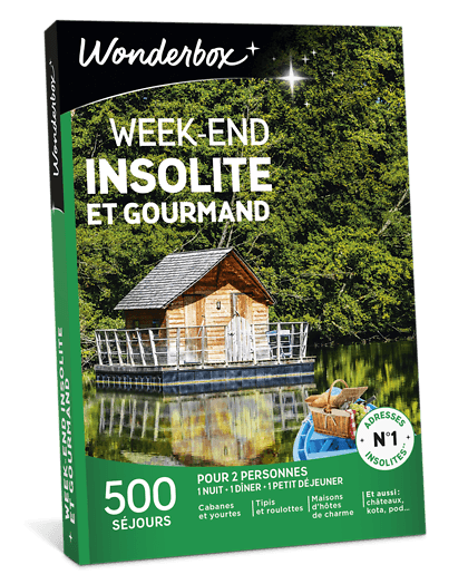 Box Week End Insolite Et Gourmand Wonderbox