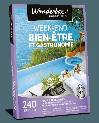 Coffret Cadeau Week End Bien Etre Et Gastronomie Wonderbox