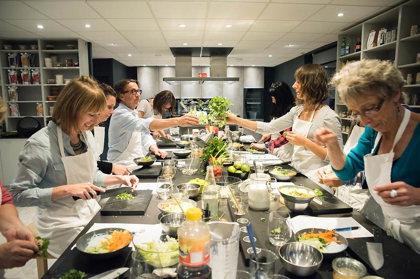 Cours de cuisine l 39 cole de cuisine du morbihan s n for Wonderbox cours de cuisine