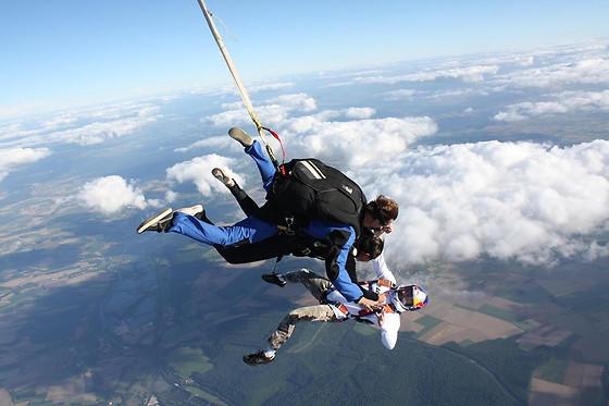 parachutisme aube