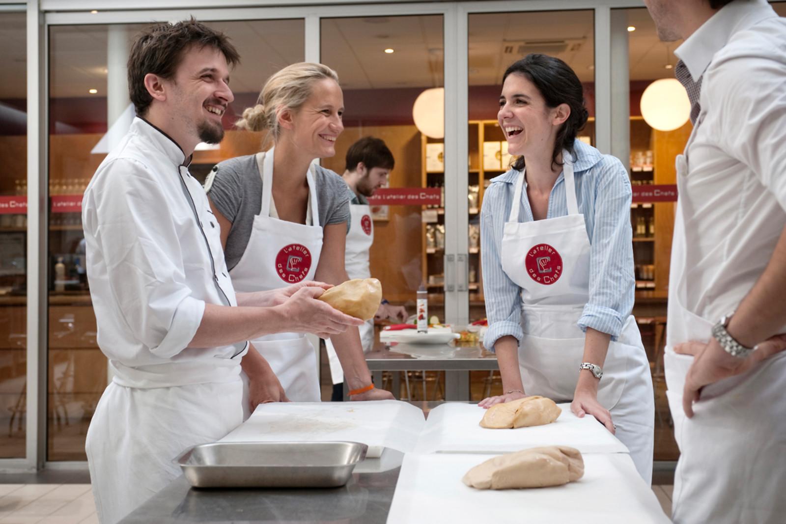 Un cours de cuisine l 39 atelier des chefs nantes 44 - Cours de cuisine l atelier des chefs ...