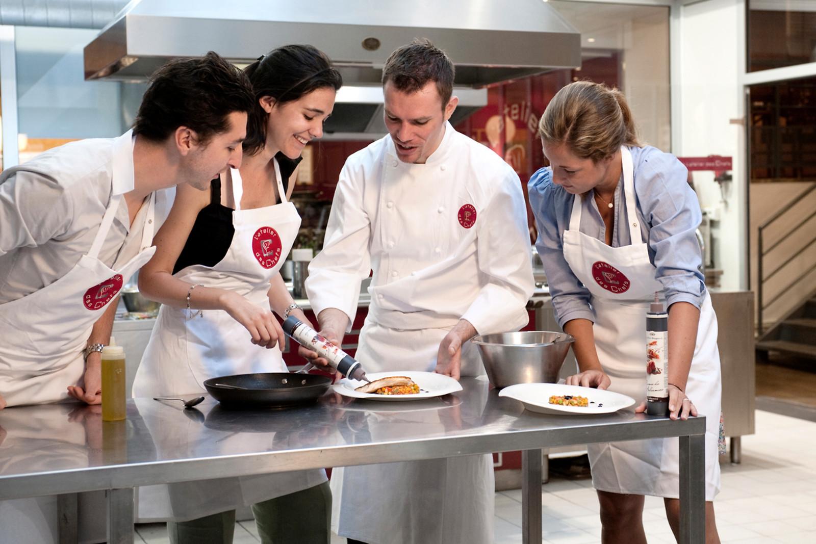Coffret initiation l 39 oenologie et cours de cuisine wonderbox - Cours de cuisine aphrodisiaque ...