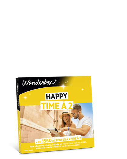 Coffret cadeauHappy Time à 2